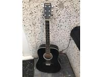 Gremlin full size lovely acoustic adults guitar £35