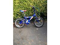 Boys Bike - Blue