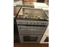 55CM SILVER LEISURE GAS COOKER GRILL/OVEN