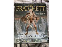 TERRY PRATCHETT, A DISCWORLD FABLE, THE LAST HERO HB BOOK
