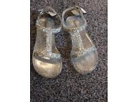 Next girls jelly sandals size 10 NEW