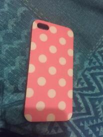 Two iPhone 5 phone cases