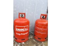 2 13KG Propane Gas Bottles (Empty)