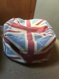 Small Union Jack bean bag