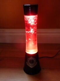 Star Wars Lava lamp. Red