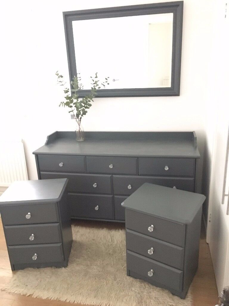 Grey Painted Drawers