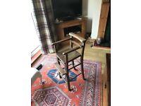 Child's Vintage High Chair