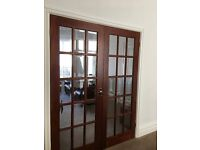 Hardwood Interior Room Dividing Doors