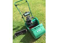Suffolk Punch 14s Petrol Lawnmower/scarifier
