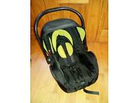 First stage baby car seat perfect condition