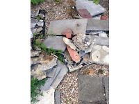 FREE - Rubble and paving slabs