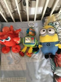 Kids soft toys all for 5£