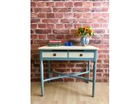 Shabby Chic Vintage Console Hall Dressing table