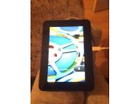 Kindle Fire HD used.