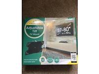 """AVF premium adjustable tilt tv mount, 37-80"""", brand new, rrp £74"""