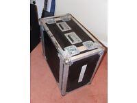 "Bulldog flight case 19"" rack mount 6U shock mount"