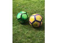 Premier League Footballs (£5 each)