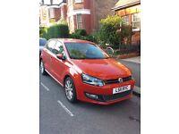 VOLKSWAGEN Polo 1.4 SEL 85 S-A 5 Door Hatchback Petrol Car, Auto, Orange red