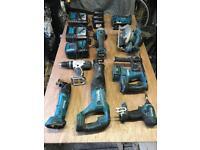Makita full power tool set