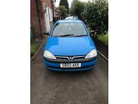 Vauxhall Corsa 1.2 3 Door Cheap Insurance & Road tax