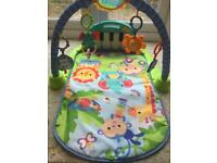 Fisher price kick & play piano gym mat