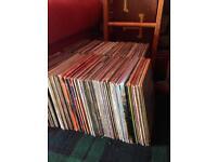 Job lot of vinyl records (approx. 200)