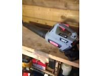 36v chainsaw and blower