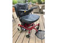 Vienna transportable power wheelchair