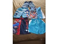 Shorts/swimshorts bundle aged 5-6 years (5 items)