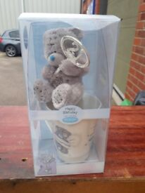 Me to You - 21st birthday teddy bear gift set.