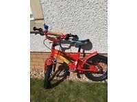 Boys Fireman Sam 14'' Bike