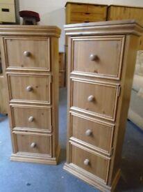 Pine cupboards, storage, shelves