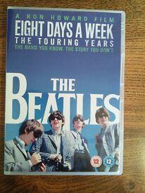 The Beatles Eight Days A Week dvd
