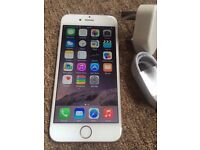 Apple iPhone 6 128gb Silver/Gold UNLOCKED