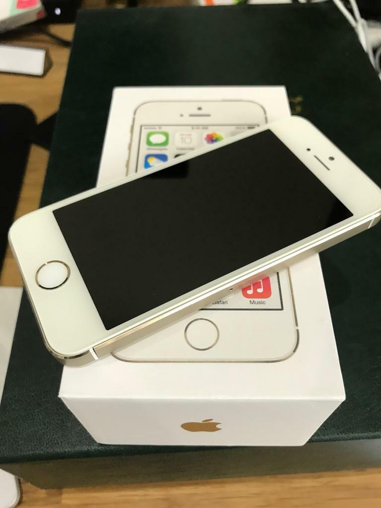 iPhone 5S Gold 32Gb boxed (dented back)