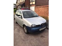 Seat Arosa 1.4 TDI Silver *Full Service History* Cheap Insurance Great First Car