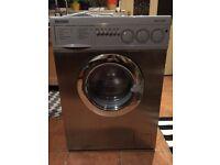 Baumatic Mega WDSS Silver Washing Machine - Faulty Bearing - Spare or Repairs