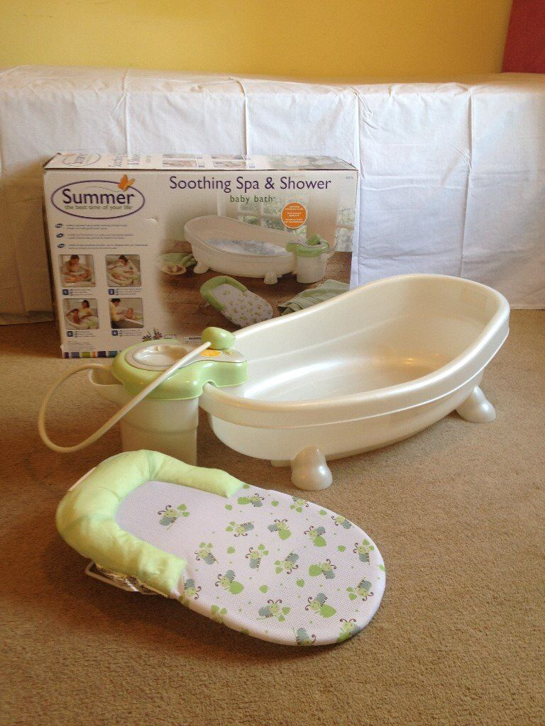 Summer Infant spa and shower baby bath | in Louth, Lincolnshire ...