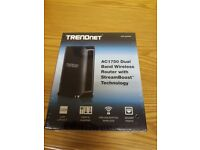 AC1750 Dual Band Wireless Router with StreamBoost™ Technology (new, never used, still in box)