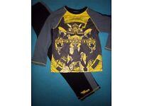 Boys Transformers Pyjamas Age 7-8 Years IP1