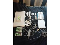 Nintendo WII console, WII Board and games