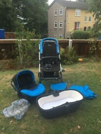 Silver cross Wayferer travel system