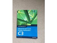 Edexcel C3 A-level maths book, used for sale  East Sussex