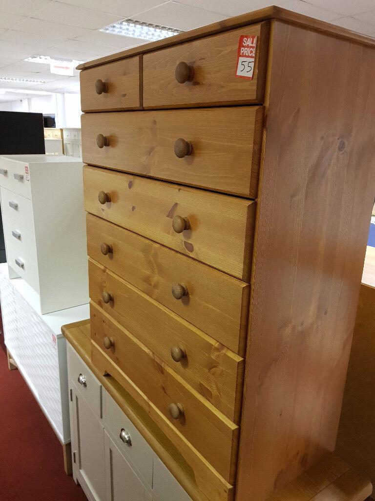 nordic 5+2 drawerc hest pine