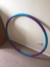 Adult fitness/exercise hula hoop