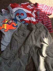 Boys summer bundle Age 3-4 years