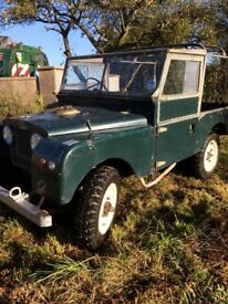 Land Rover 1956 Series 1 86""