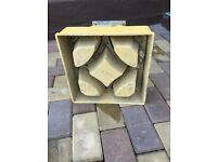 Concrete decor block mould