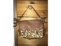BRAND NEW WITH TAGS Warehouse Leopard print handbag