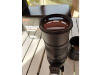 for sale sigma canon fit 150-500 lens f5-6.3 apo dg os this lens is in mint condition as hardly used